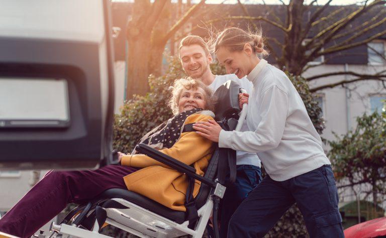 Tragestuhl Krankenfahrten
